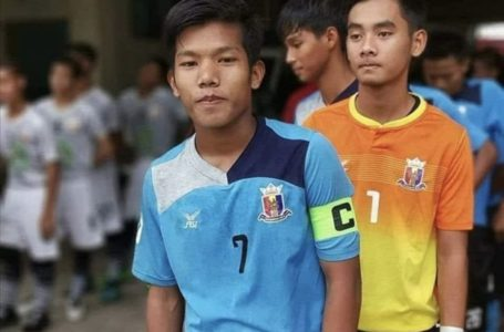He dreamed of football fame, but died on junta's day of shame