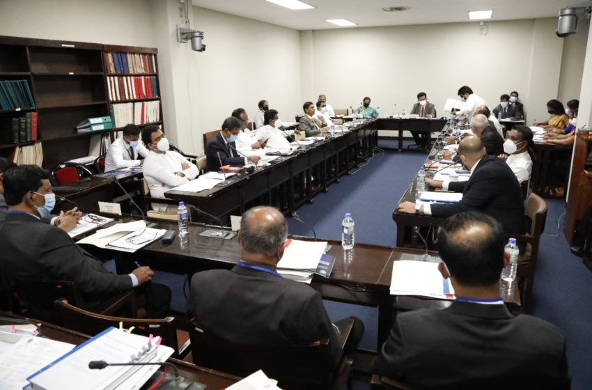 Proposals received from 10 Recognized Political Parties for Reforming Election Structure and Electoral Law